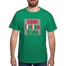 Love Italian Style T-Shirt