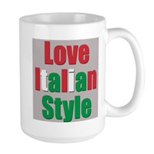 Love Italian Style Mug