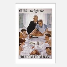 Ours to Fight for Freedom Postcards (Package of 8)