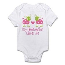 My Godmother Loves Me Infant Bodysuit