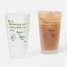 Worrying Drinking Glass