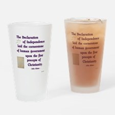 Declaration of Independence C Drinking Glass