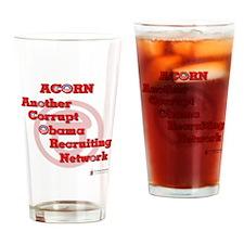 ACORN Corrupt Drinking Glass