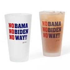 Nobama NoBiden Drinking Glass