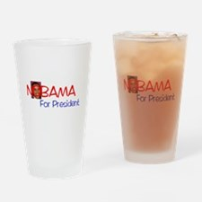 NOBAMA Drinking Glass