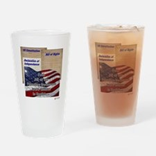 Founding Documents Drinking Glass
