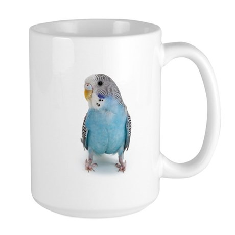 Blue Parakeet Large Mug