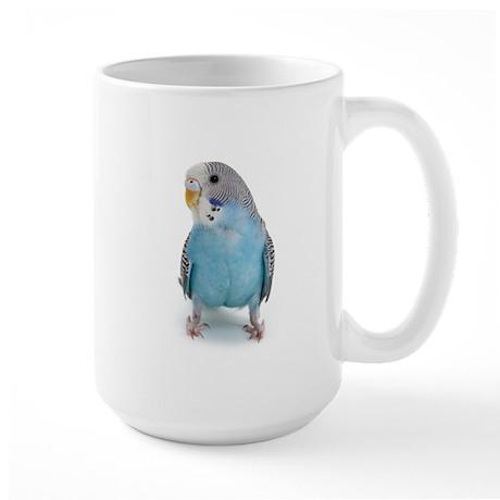 Blue Parakeet Large Mug