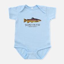 Salmo Trutta - Brown Trout Infant Bodysuit