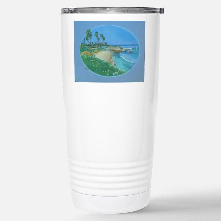 Floating Cove Stainless Steel Travel Mug