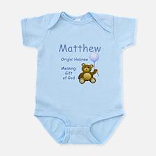 Boy Names Infant Bodysuit