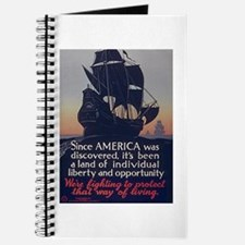 Since America Was Discovered Journal