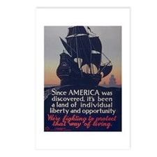 Since America Was Discovered Postcards (Package of