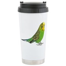 Green Parakeet Travel Mug