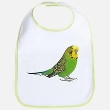 Green Parakeet Bib