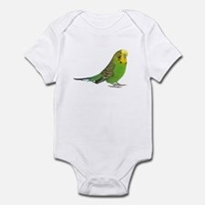 Green Parakeet Infant Bodysuit