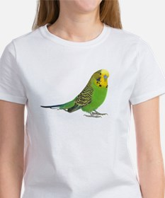 Green Parakeet Women's T-Shirt