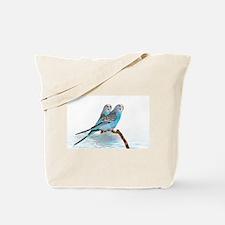 Parakeet Friends Tote Bag