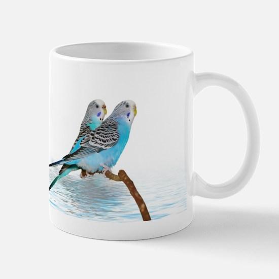 Parakeet Friends Mug