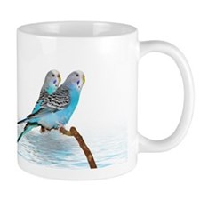 Parakeet Friends Mug