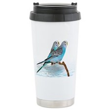 Parakeet Friends Travel Mug