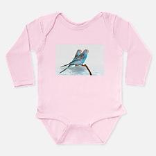 Parakeet Friends Long Sleeve Infant Bodysuit