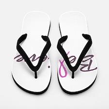 Believe Breast Cancer Flip Flops