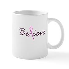 Believe Breast Cancer Mug