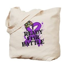 Battle Pancreatic Cancer Tote Bag