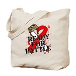 Battle Oral Cancer Tote Bag