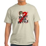 Battle Oral Cancer Light T-Shirt