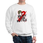 Battle Oral Cancer Sweatshirt