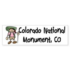 Hike Colorado Nat Monument (Girl)