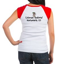 CO Nat Monument (Girl) Women's Cap Sleeve T-Shirt