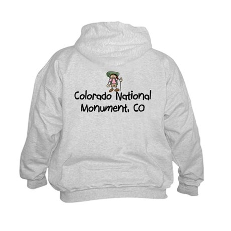 CO Nat Monument (Girl) Kids Hoodie