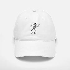 Dancing Skeleton Baseball Baseball Cap