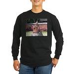 Ryukyu Shisa Long Sleeve Dark T-Shirt