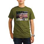 Ryukyu Shisa Organic Men's T-Shirt (dark)