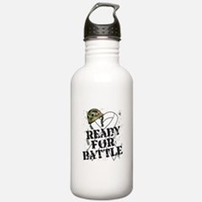 Battle Lung Cancer Water Bottle