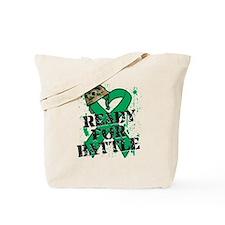 Battle Liver Cancer Tote Bag