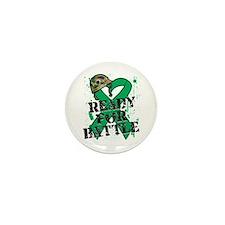 Battle Liver Cancer Mini Button (10 pack)