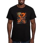 Battle Leukemia Men's Fitted T-Shirt (dark)