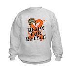 Battle Leukemia Kids Sweatshirt