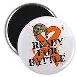 Battle Leukemia Magnet
