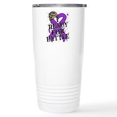 Battle Leiomyosarcoma Travel Mug