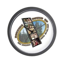 BONANZA ROUND UP Wall Clock