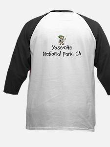 Yosemite National Park (Boy) Kids Baseball Jersey