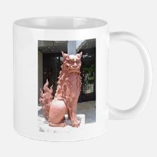 Red Shisa Mug