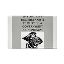 conspiracy theory Rectangle Magnet (100 pack)