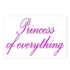 Princess of everything Postcards (Package of 8)
